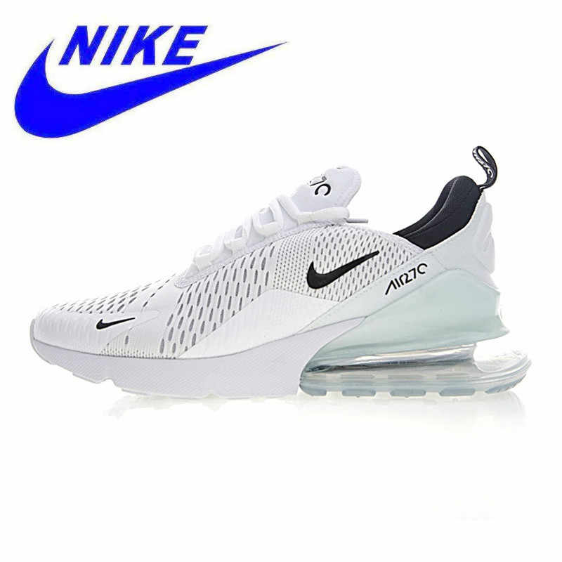 half off 95bf2 40b2e Nike Air Max 270 Men s Running Shoes,Shoes,White   Light Blue, Breathable