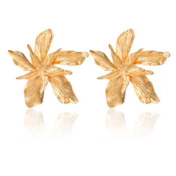 Big Flower Drop Dangle Earring for Women Earrings Jewelry Women Jewelry
