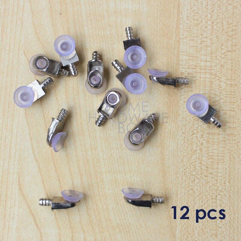 12 stücke winkelverbinder peg kleiderschrank schrank glas regal pin ...