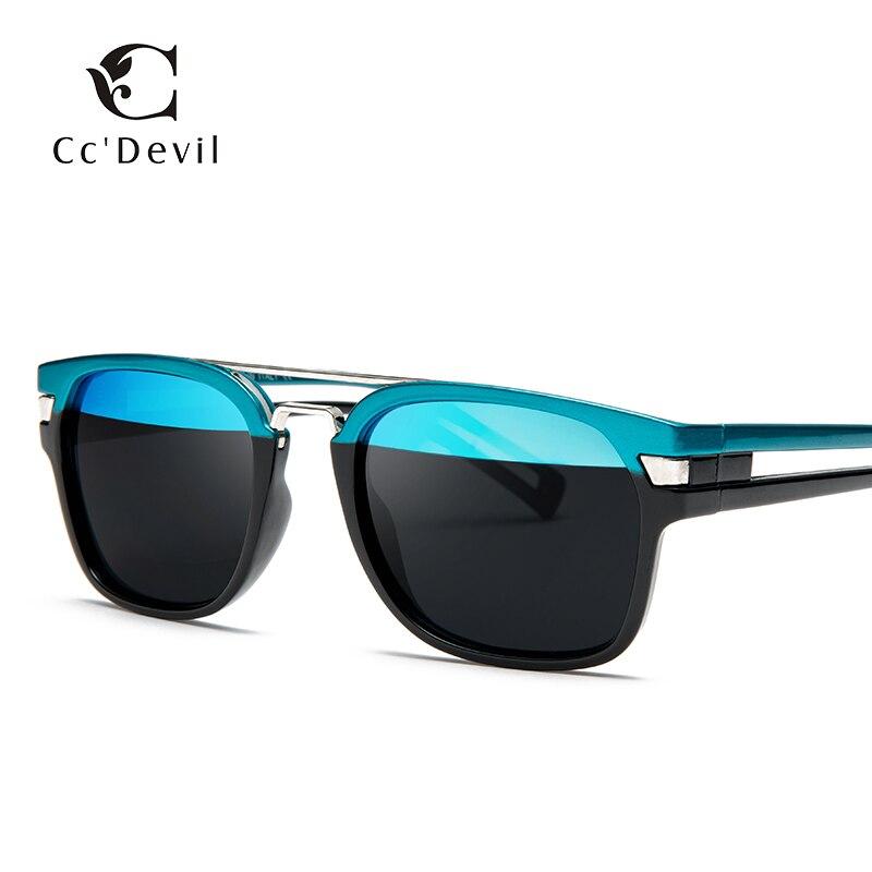 Classic Square Fashion Sunglasses Men Women Brand Designer Vintage Driving Goggle Rivet Mirror Male Sun Glasses UV400 in Men 39 s Sunglasses from Apparel Accessories