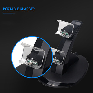 Image 3 - Controller Charger Dock LED Dual USB PS4 Stand up Charger For Sony PlayStation 4 / PS4 Pro Wireless Game Handle Joystick holder