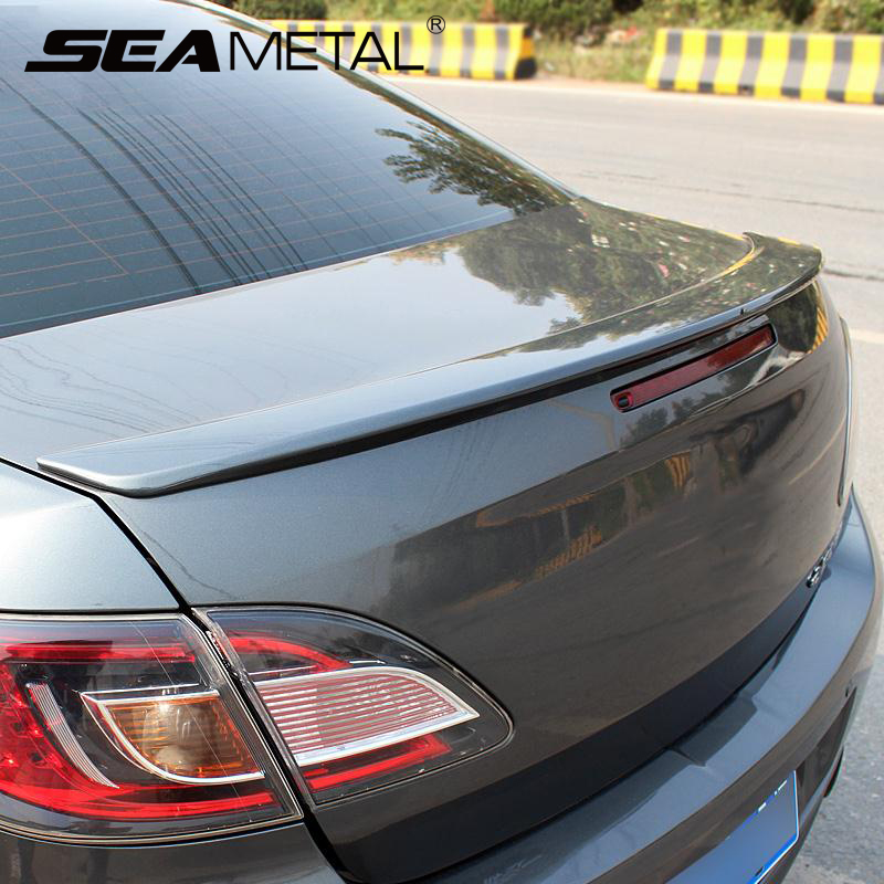 Car rear spoiler wing trunk spoiler decorative cover for Wing motors automobiles miami fl