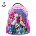 Queen 5D Pupils Backpack Children School Bag for Girl Cartoon Schoolbag Student School Backpack Kid Mochila Infantil