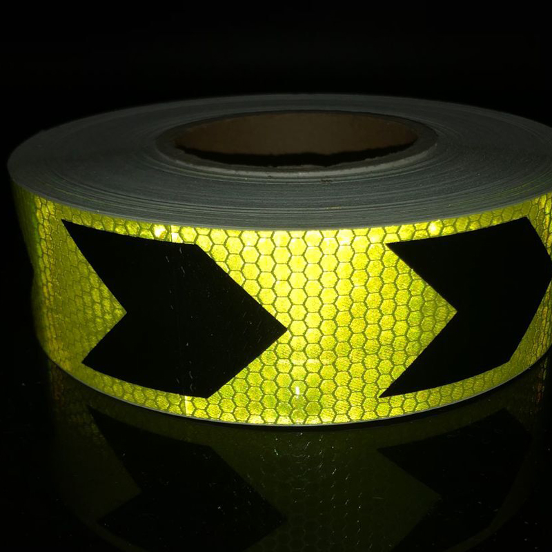 5cmx25m Reflective Bicycle Stickers Adhesive Tape For Bike Safety Reflective Car Stickers in Reflective Material from Security Protection