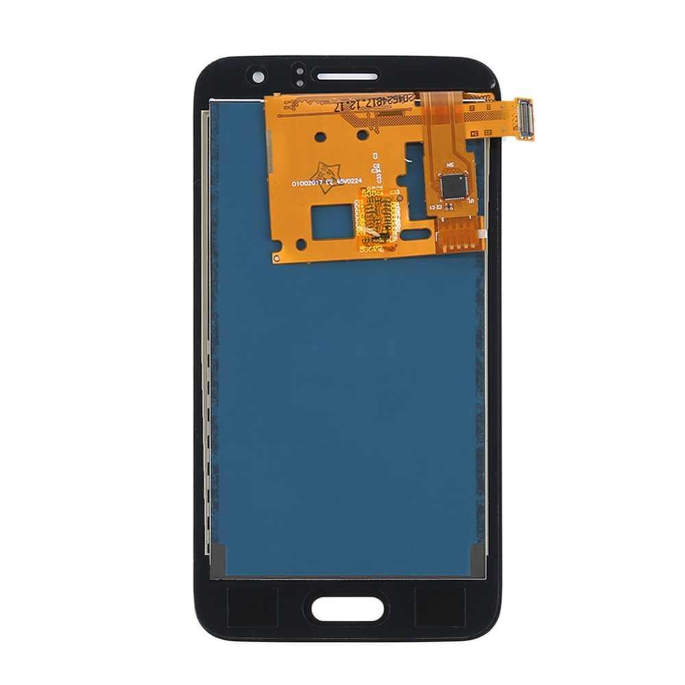 J120f lcd para Samsung Galaxy J1 2016 pantalla LCD J120 J120M J120H digitalizador de pantalla táctil de la Asamblea j120f pantalla j1 2016 lcd