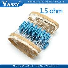 20pcs 1.5 ohm 2W 1.5R 1R5 Metal film resistor