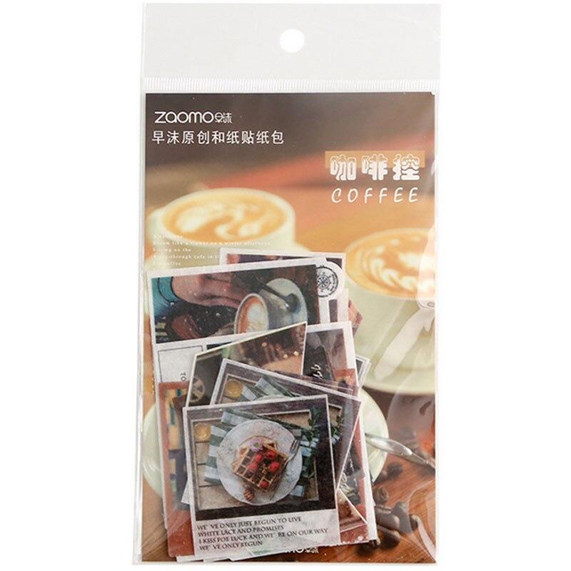 Купить с кэшбэком 40pcs/bag Travel series sticker decoration DIY ablum diary scrapbooking label sticker kawaii stationery