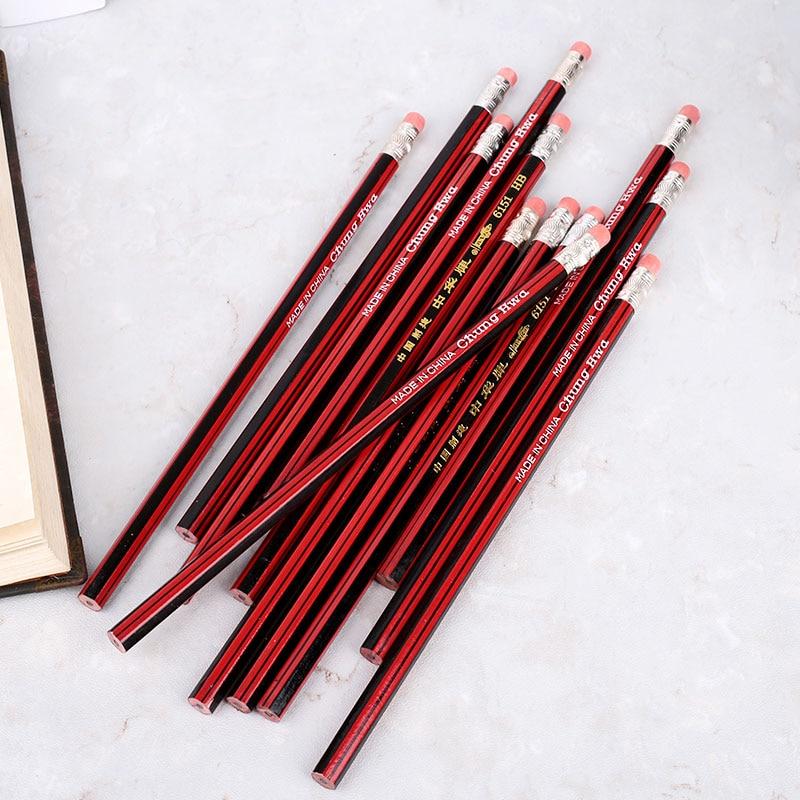 Столярные Карандаши деревянные карандаши 12 шт./партия рисунок Универсальный студенческий прочный 19 см