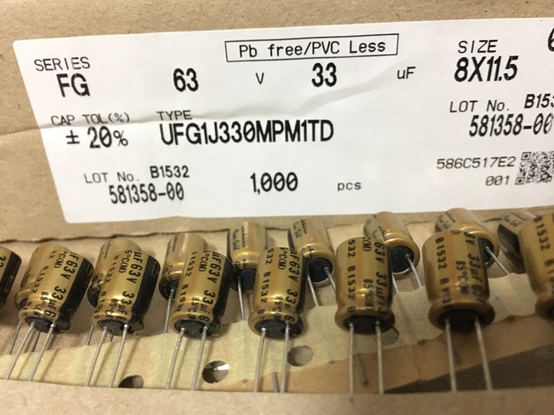 100pcs 16V 10uF 16V NOVER RE 5x11mm Audio Electrolytic Capacitor