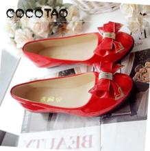 New Sweet Bow Shoes For Spring And Autumn In 2019 Women Ladies Pointed Flats15