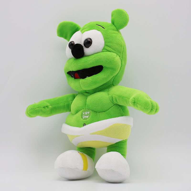 8f6be1a5f 30CM Gummy Bear Voice Pet Funny Lovely Toys Sounding Plush Toy Best Gift  For Kids