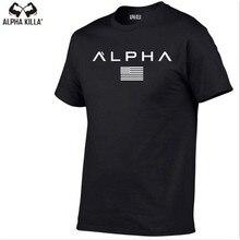 2018 summer new men cotton Short sleeve t shirt Fitness bodybuilding shirts Crossfit male Brand tee