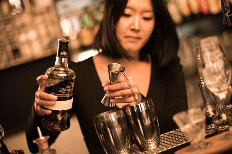 1 UNIDS de Acero Inoxidable Delgado Doble Jigger Cocktail Medición - Cocina, comedor y bar - foto 6