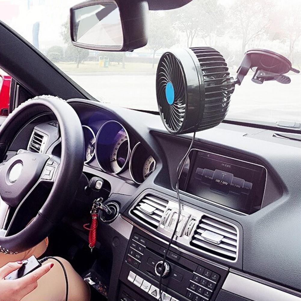 6 pouces ventilateur de voiture mandrin fort vent ventilateur de refroidissement Simple tête réglable vitesse moteur ventilateur facile à transporter Style Simple