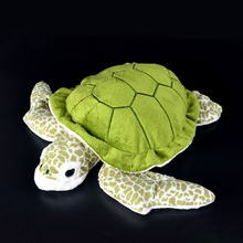 28cm Lifelike Tortoise Plush Toys Super Soft Turtle Stuffed Toy Sea Animals Gifts For Children