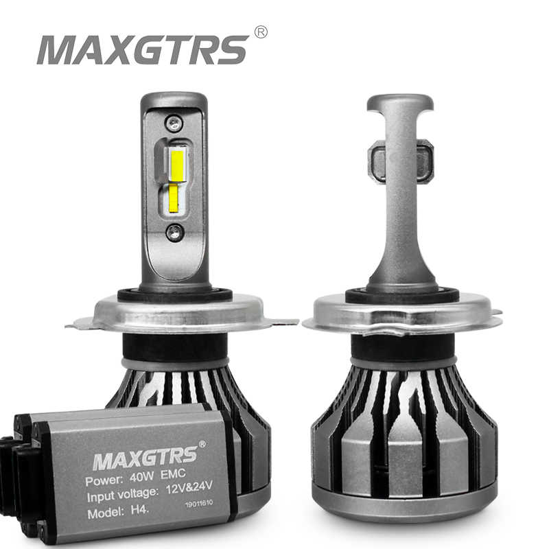 MAXGTRS Car LED Headlight H1 H3 H7 H4 LED H8/H11 HB3/9005 HB4/9006 9012 880 881 CSP Chip 70W Canbus Auto Bulb Headlamp Light