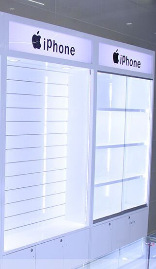 Superbe Apple Samsung HTC HUAWEI LG Display Cabinets ,High End Mobile Phone  Accessories Cabinet ,