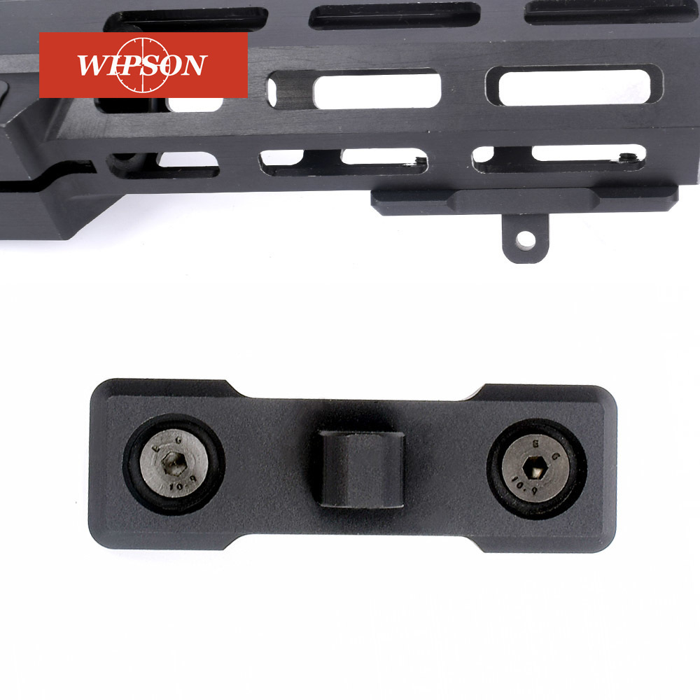WIPSON M-Lok Bipod Mount Adapter AR15 Bipod Adaptor Fits mlok Rail for Harris Bipod Sling Stud Aluminum(China)