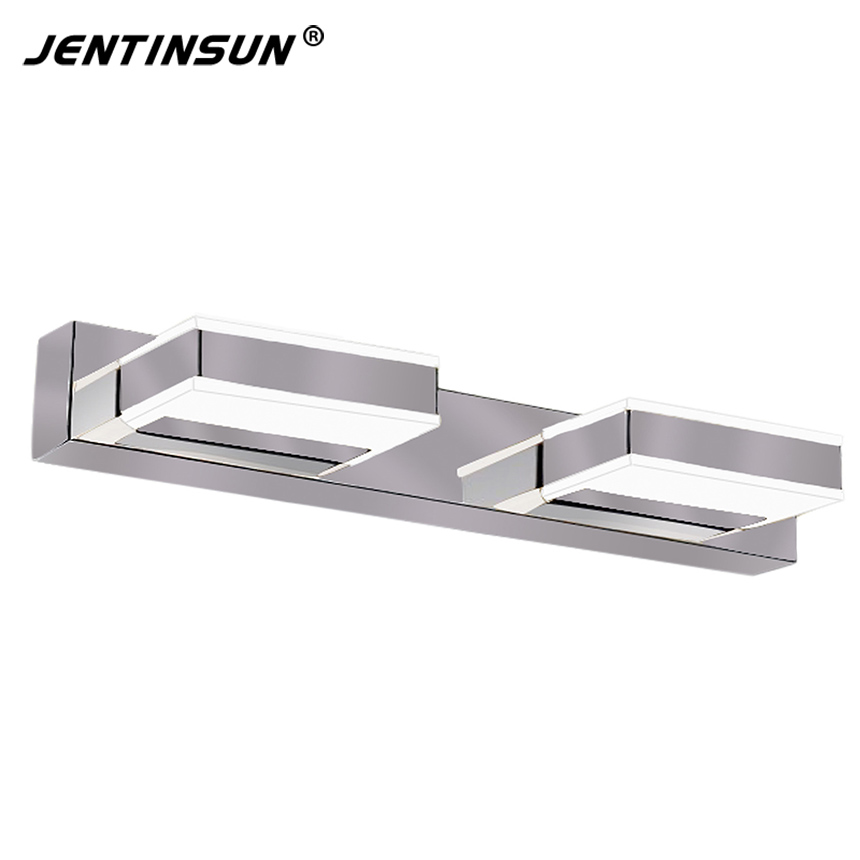 Jentinsun 32cm 6W LED Mirror Light Modern Indoor Bathroom Livingroom LED Wall Lamp Lights lampada de led light Lighting fixtures modern led bathroom light stainless steel led mirror lamp dresser cabinet waterproof sconce indoor home wall lighting fixtures