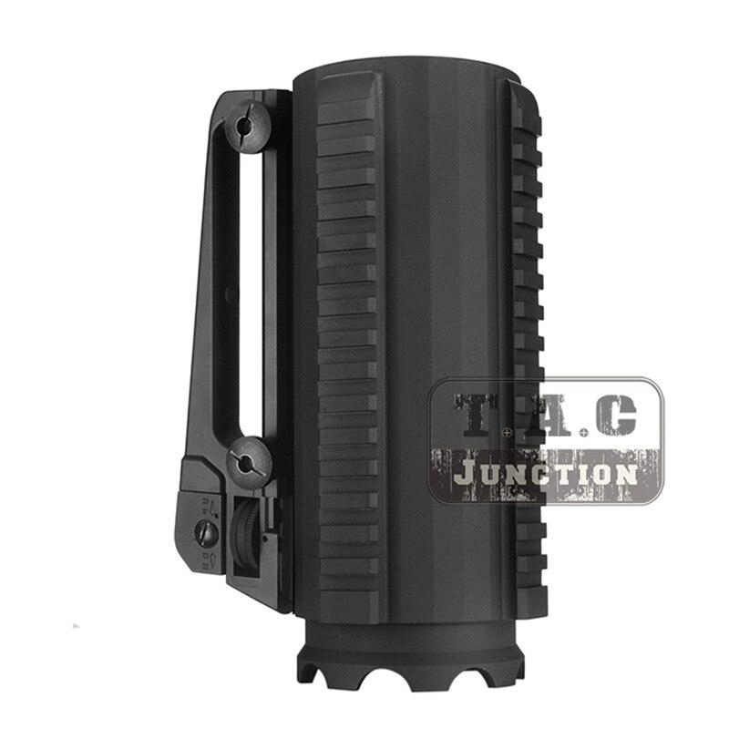 Tactical Military Multifunction Aluminum Detachable Dual Aperture Rear Sight Carry Handle Combat Battle Mug Cup w