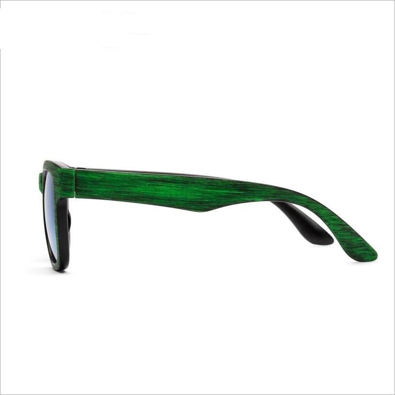 2017 gafas de sol de grano de madera de imitación polarizada mujeres - Accesorios para la ropa - foto 3
