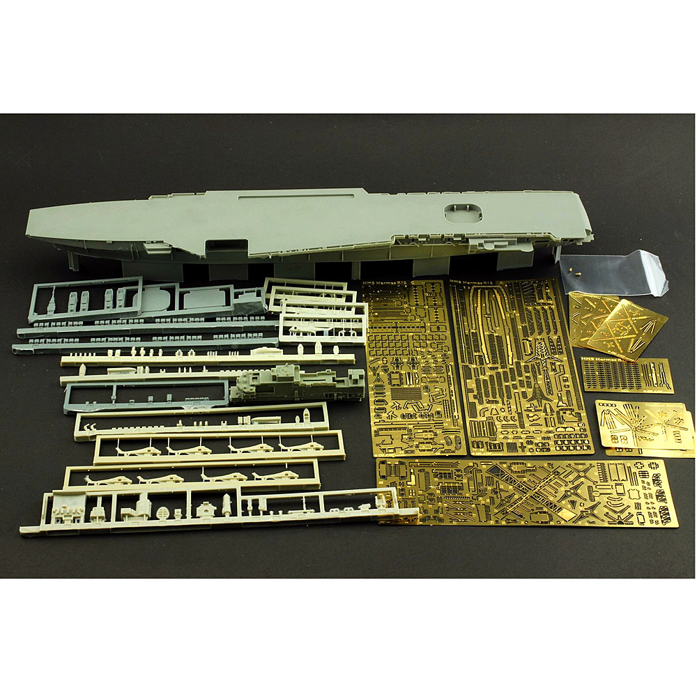 OHS Orange Hobby N07008448 1/700 HMS R12 1970 Assembly Scale Military Ship Model Building Kits