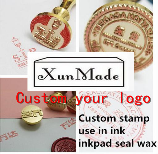 Seal seal ink leather envelop letter Carved seal wax stamp engraved wedding Invitation Retro antique sealing wax customize logo new 220v photosensitive portrait flash stamp machine kit self inking stamping making seal holder film pad no ink