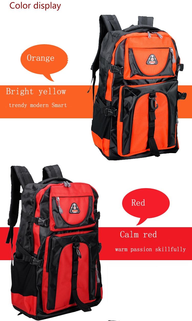 17 Senkey style 60L Large-capacity Travel Backpack Men Women Fashion Backpack To Casual Waterproof Laptop Student school Bag 3