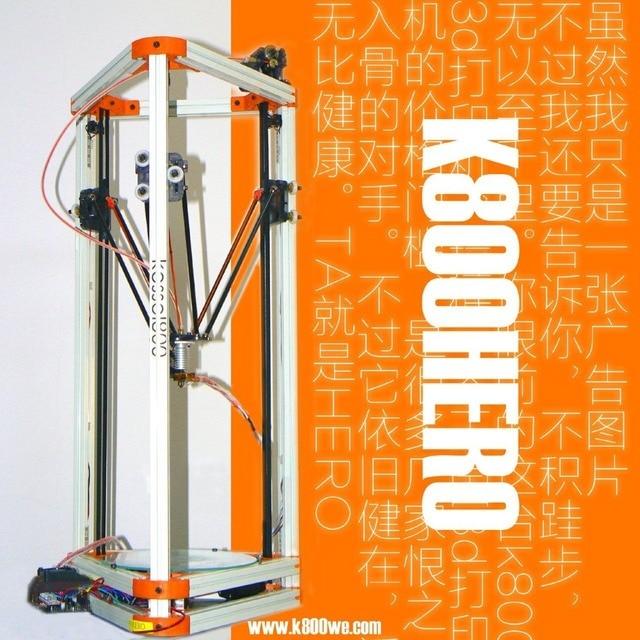 2015 Newest Self-assembly,kossel mini,delta kossel 3d printer ,K800 3d printer,Reprap DIY full kit