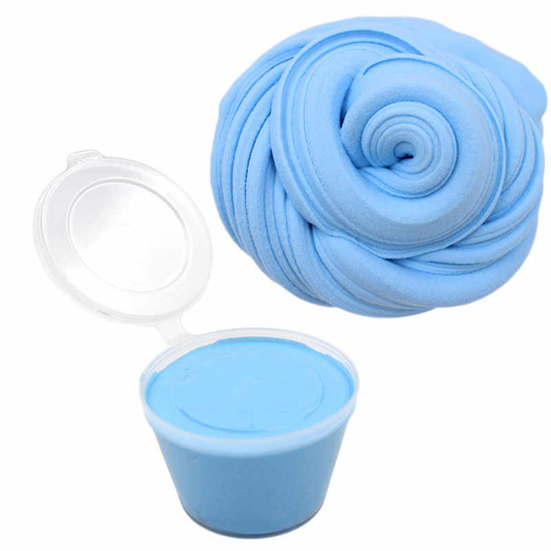 Fluffy Slime Box Pack Hand Gum Playdough Supplies Soft Clay Floam Scented Stress Relief Release Clay Plasticine Toys for Kids