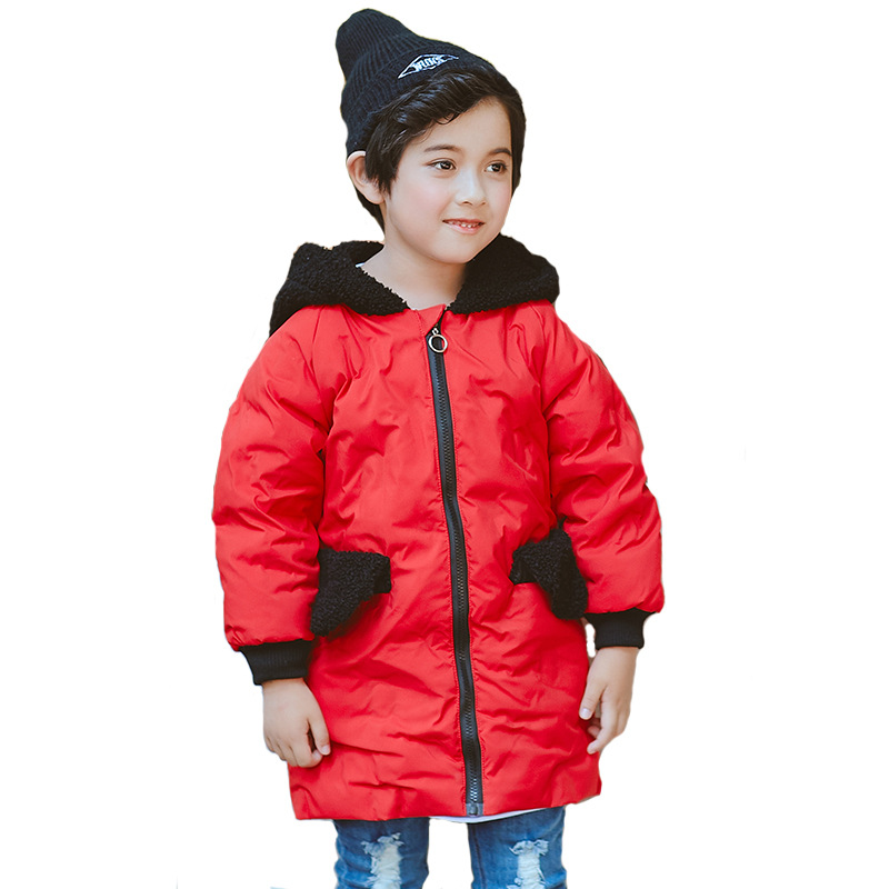 Boys Winter Jackets Kids Clothes 2018 New Casual Toddler Baby Winter Jackets for Boys Hooded Warm Coat Parkas Children Clothing 2017 autumn kids clothes baby boys jackets winter coat corduroy thick warm children boys clothing fashion coat infant boys
