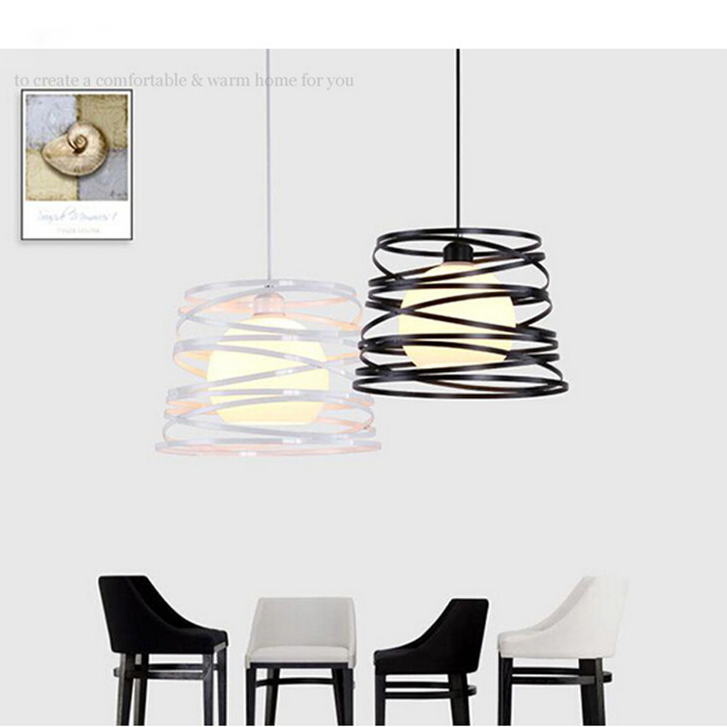 Loft Simple Iron American Style Pendant Light For Dining Room Home Restaurant Creative Study Room Living Room LED E27 ark light vintage rural style pendant light american wrought iron led pendant light cottage dining room living room study room