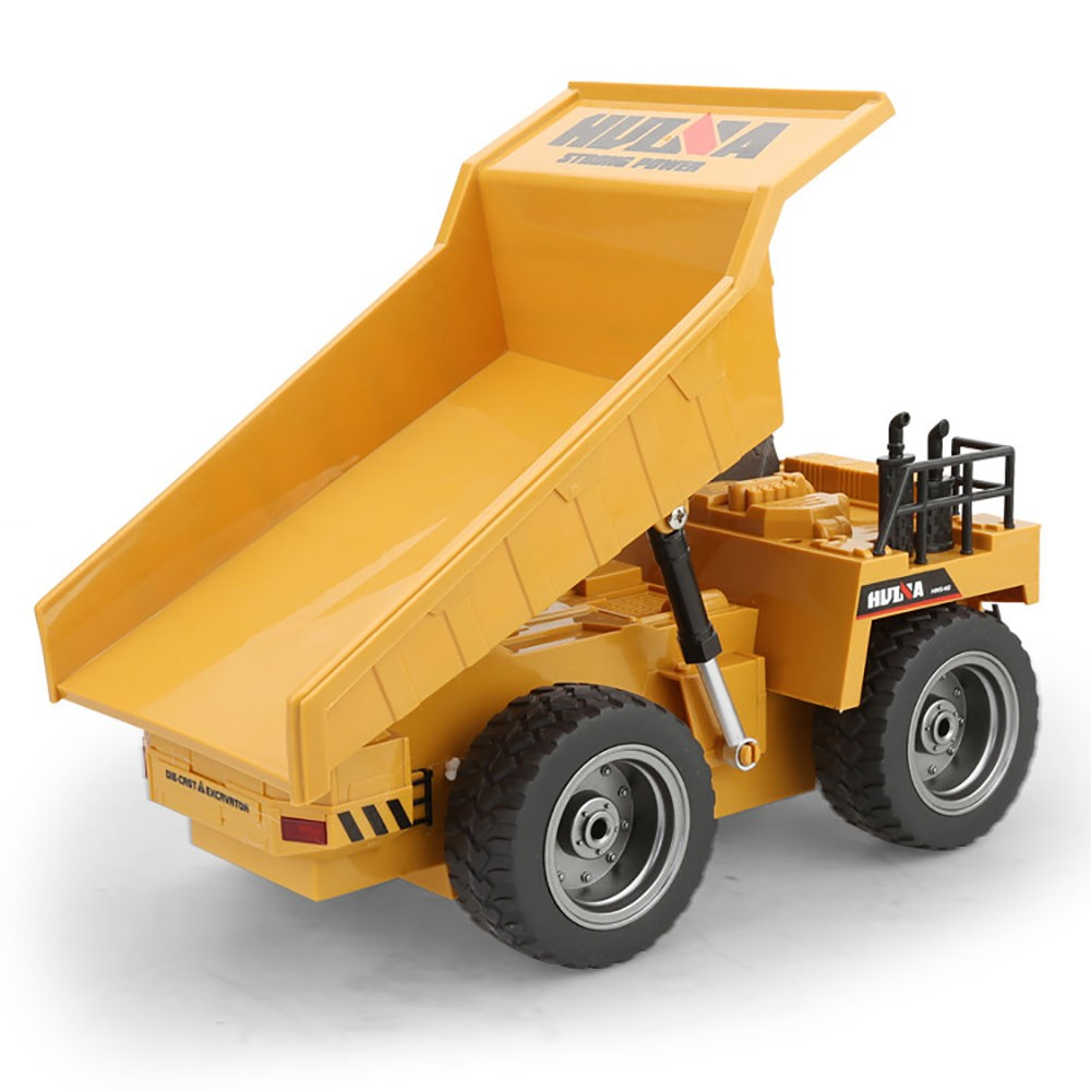 Huina 322 1 18 six way remote dump truck child charging remote control car dump truck remote control toy rc car in RC Cars from Toys Hobbies