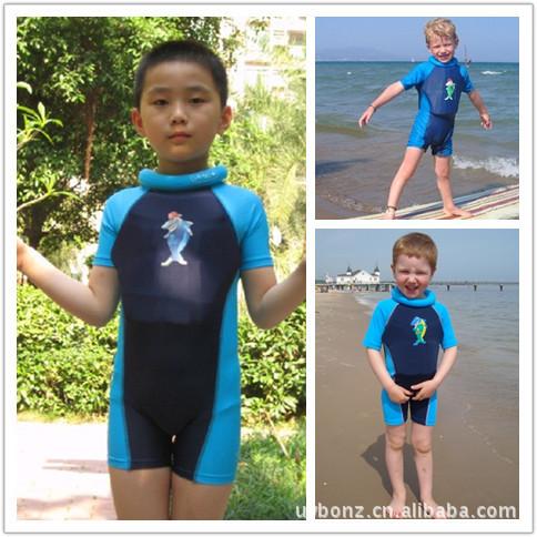 Correa de una sola pieza del traje de baño profesional boyante muchacho del traje de baño niñas flotabilidad de secado rápido de una pieza traje de baño