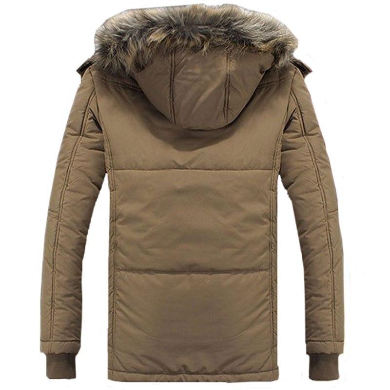 2016 zimska jakna za muškarce plus veličina M-4XL topla debela runo - Muška odjeća - Foto 4
