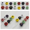 Multi Colors Vintage Ceramic Door Knob Knobs Kids Children Bedroom Cupboard Cabinet Drawer Pull Handles With Screws Pulls Handle