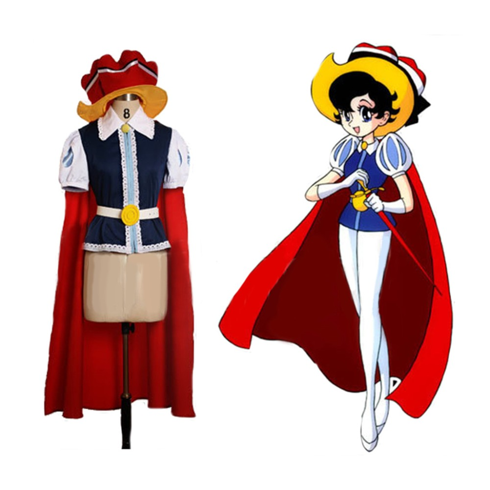 Cosplaydiy Custom Made Snow White Princess Sapphire Cosplay Costume Adult Girls Fancy Halloween Suit L320