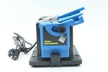 Elektronischen multifunktions drill sharpener 1 stück mini grinder tools blau bohrer schärfmaschine messerschärfer schärfen bohrer.