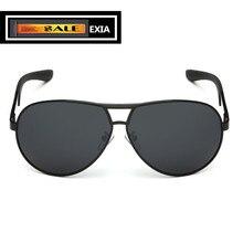 Pilot Men Sun Glasses Grey Polarized UVA Lenses EXIA OPTICAL KD-8013 Series