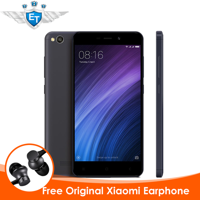 Оригинал Xiaomi Redmi 4А 4 Pro Смартфон 2 ГБ 32 ГБ Глобальной ROM 5.0 ''1280x720 Snapdragon 425 Quad Core 13MP Камера MIUI 8.1