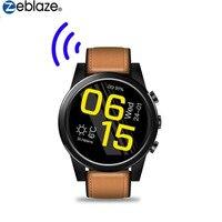 Zeblaze THOR4 Pro 1,6 дюймов Android7.1.1 MTK6739 4 ядра 1 г + 16 Смарт часы с Wi Fi BT 5.0MP наручные часы камеры