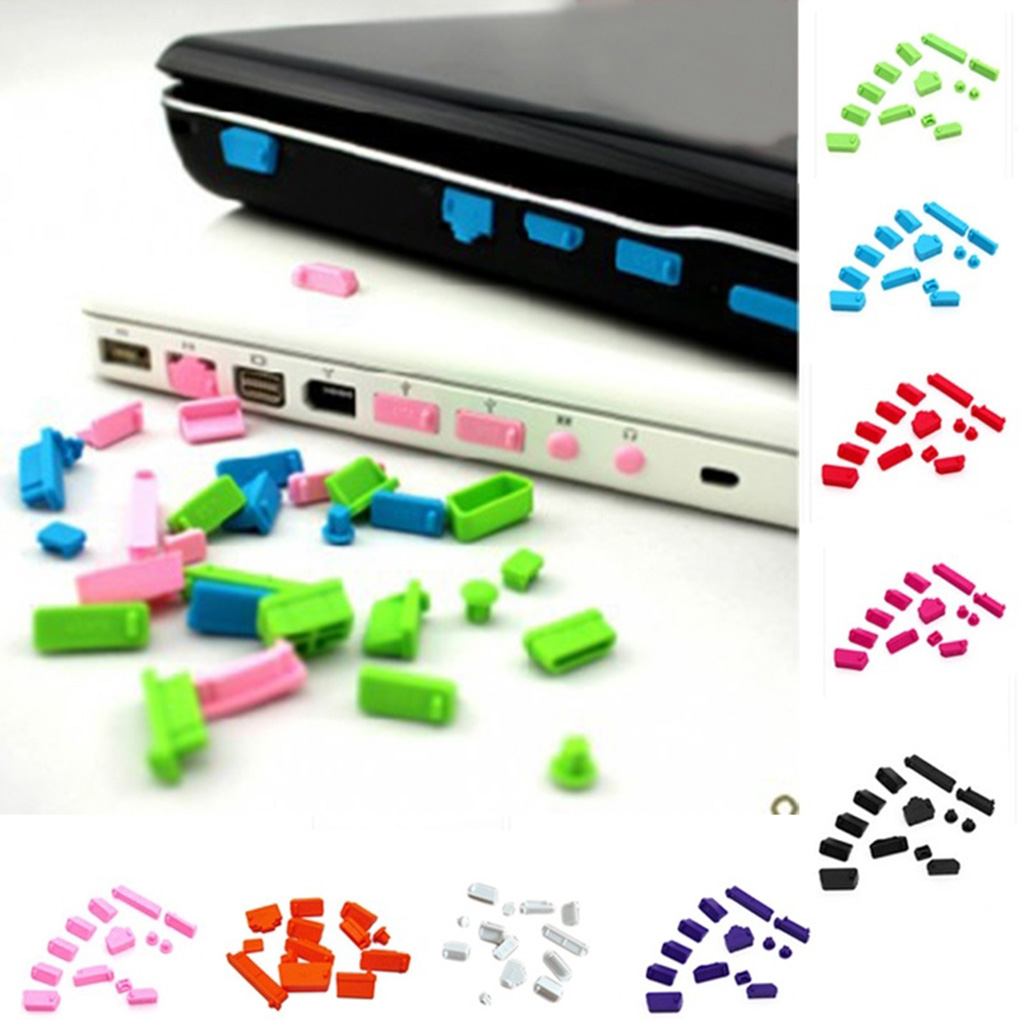Hot Style Silicone Elastic Anti-dust Laptop Port Protector Dustproof Notebook Computer Port Plug Cover Stopper