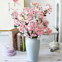 95cm Cherry Blossom Tree Silk Artificial Flowers Large Branch Apple Fake Flowers Faux Flowers Home Wedding Spring Decoration