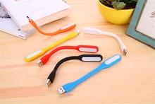 10 pieces Mini Soft Flexible USB Led Light Table Lamp Gadgets