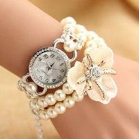 Fashion Top Brand Luxury Quartz Wrist Watch Bracelet Women Watches 2017 Ladies Female Clock Montre Femme