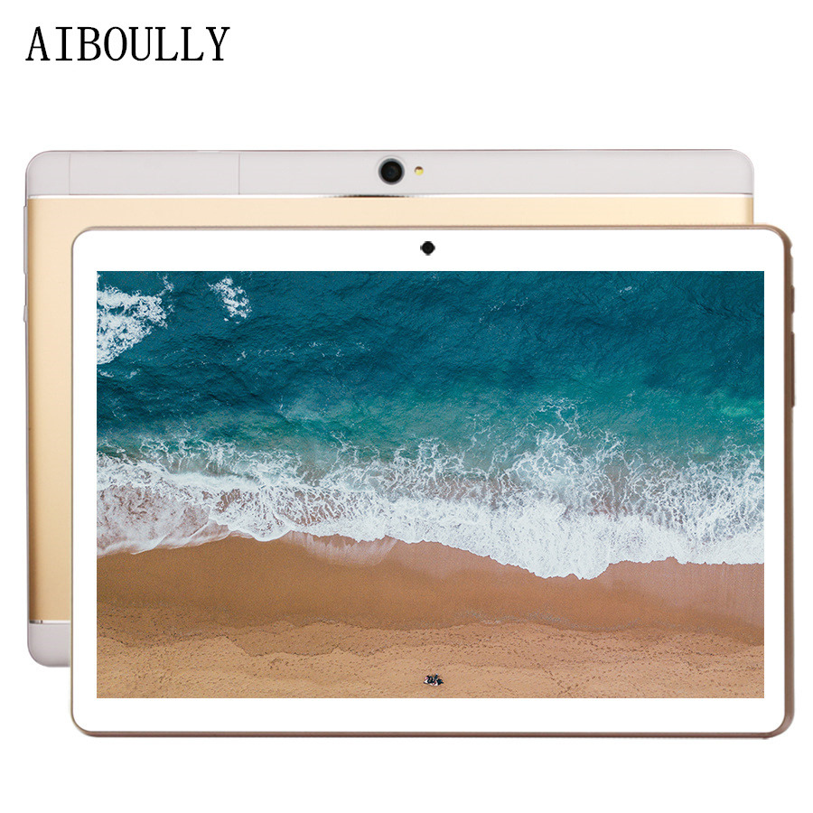 AIBOULLY 2018 Original 10.1 inch 7.0 OS Android Tablet PC Octa Core 4GB RAM 32GB ROM 3G Phone Call Tablet Dual SIM GPS WiFi 8'' lnmbbs 3g 10 1 inch phone call tabletas pc android 7 0 2gb rom 16gb ram octa core dual sims gps bluetooth wifi dhl free laptop