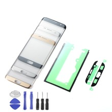 Touch Screen For Samsung Galaxy S7 Edge G935F LCD Display Touch Screen Panel Sensor Digitizer Glass with Adhesive+Tools