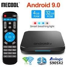 MECOOL KM9 DDR4 Android 9.0 Smart TV Box Amlogic S905X2 4GB