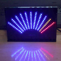 Aiyima ASK11 LED Music Audio Spectrum Display VU Meter Fan Shaped Pointer Level Indicating Amplifier With