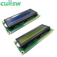 1 個 LCD1602 1602 モジュールブルーグリーンスクリーン 16 × 2 文字の Lcd ディスプレイモジュールブルーブラックライト